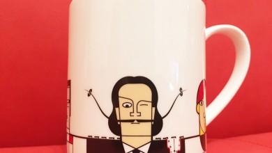 ダリ様お怒り?!なオシャレマグカップを発見!